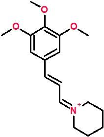 1-[(2E)-3-(3,4,5-trimethoxyphenyl)prop-2-en-1-ylidene]piperidin-1-ium.png